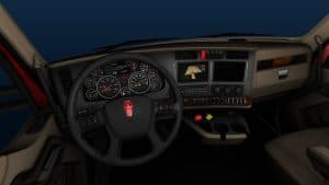 KENWORTH T680 TRUCK INTERIOR for ATS GAME (1)