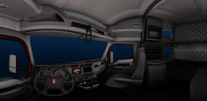 KENWORTH T680 TRUCK INTERIOR for ATS GAME (3)