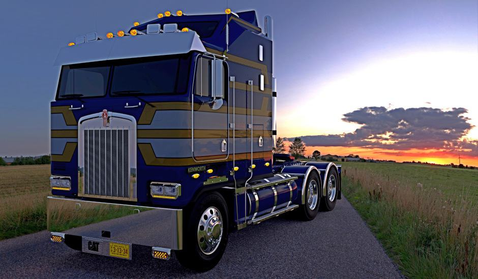 Kenworth trucks for American Truck Simulator (1)