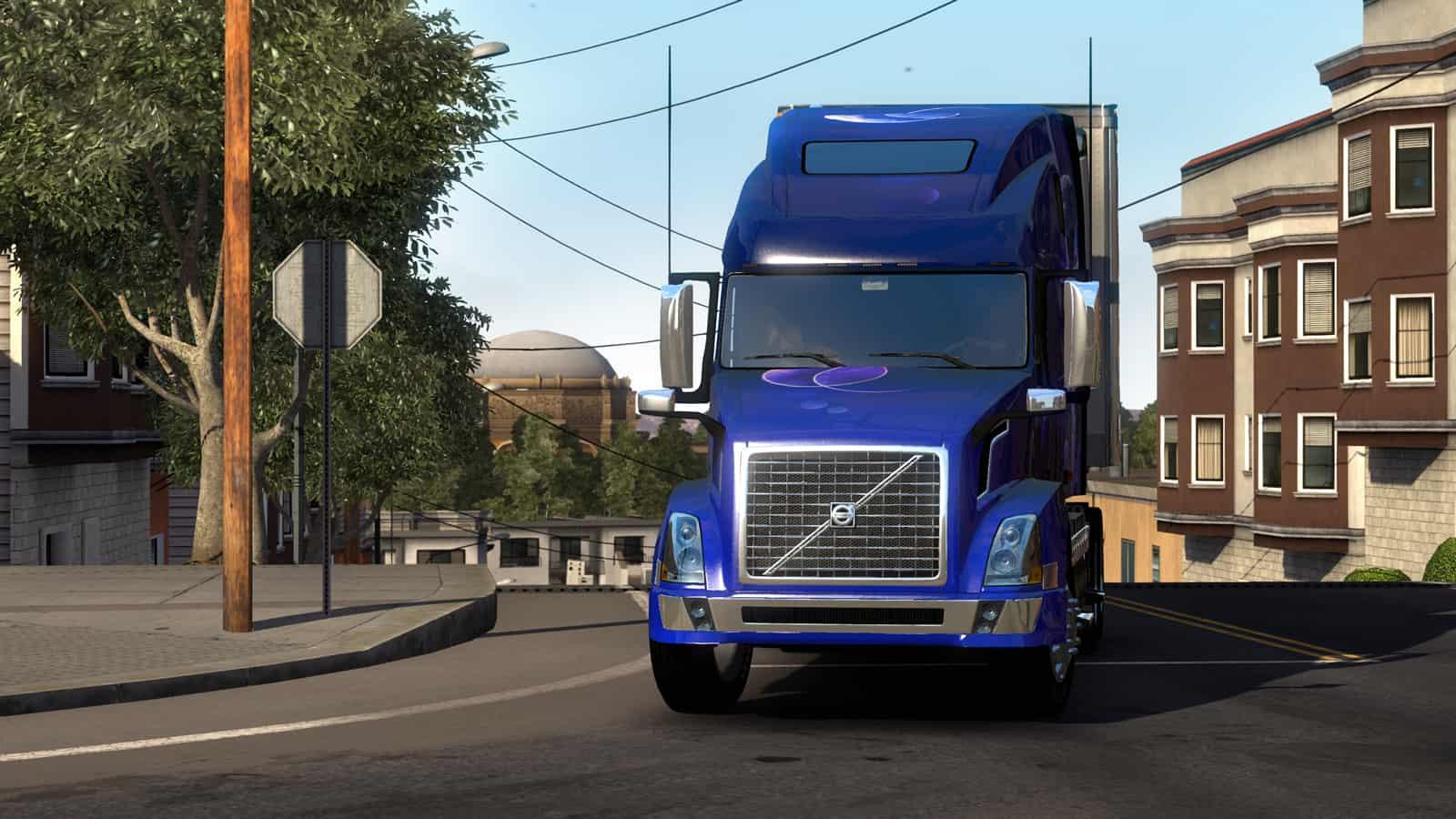 Volvo Vnl 780 On American Truck Simulator