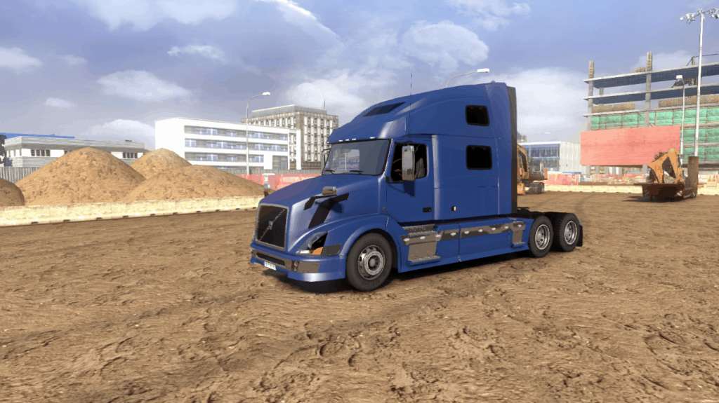 VOLVO VNL 780 on American Truck Simulator - American Truck Simulator mod | ATS mod