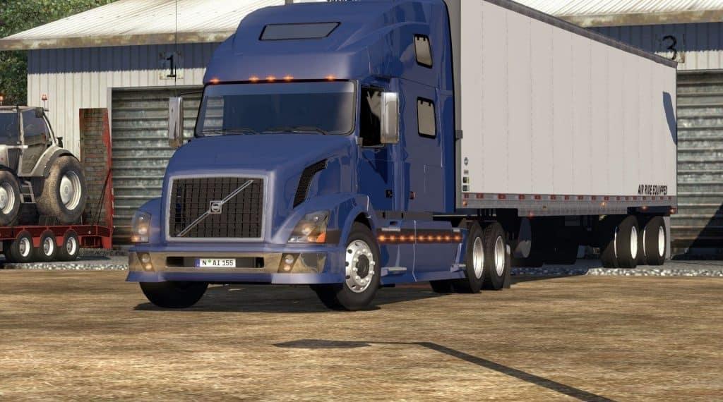 VOLVO VNL 780 on American Truck Simulator (2)