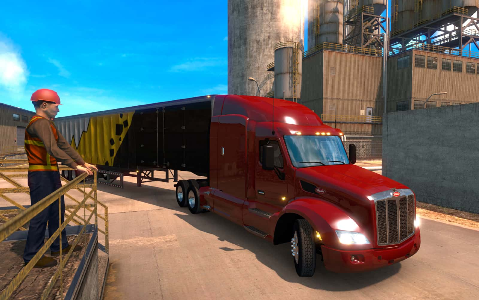 about american truck simulator game ats game. Black Bedroom Furniture Sets. Home Design Ideas