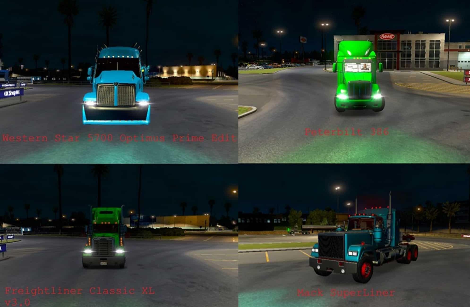 ATS 28 Trucks Xenon Light Turquoise u0026 Light Green Pack v 3.0 Mod & ATS 28 Trucks Xenon Light Turquoise u0026 Light Green Pack v 3.0 Mod ... azcodes.com