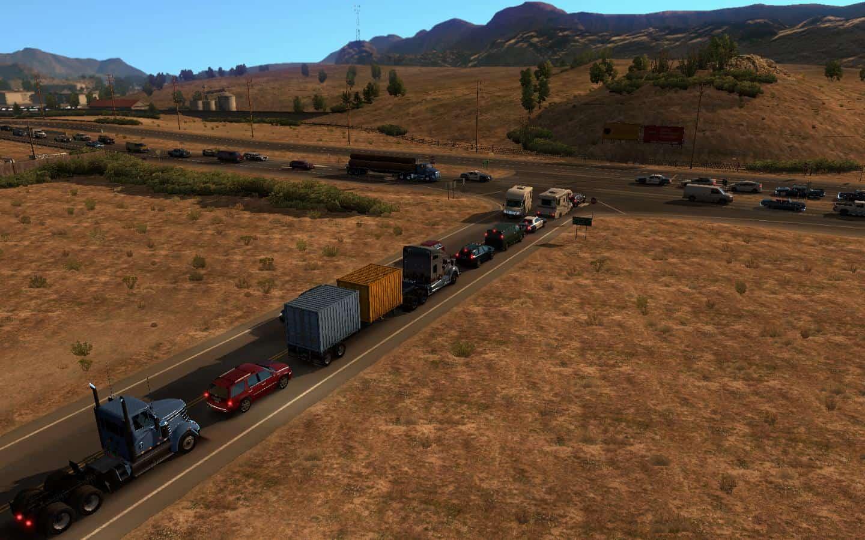 ATS AI Traffic Density v1 for ATS - American Truck Simulator