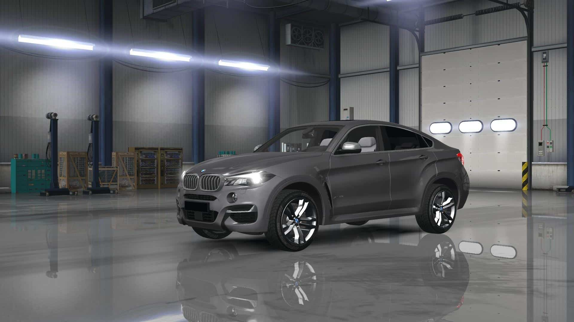 Ats Bmw X6m 2015 Bambitrailer V2 0 For Ats American