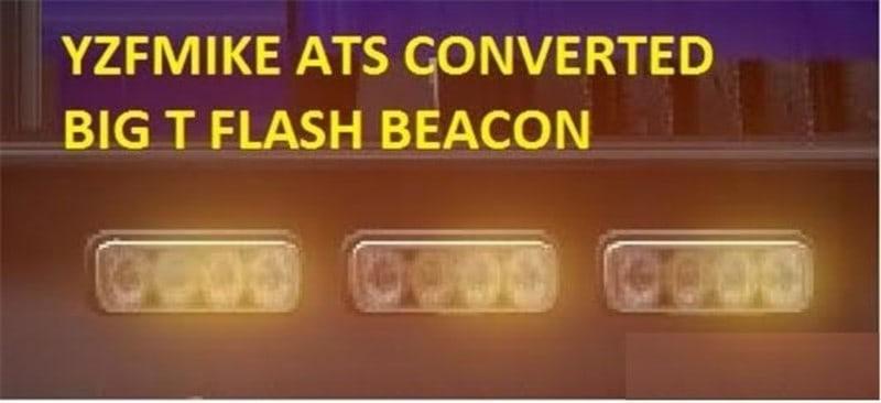 Big T Flash Beacon V 1 ATS  sc 1 st  American Truck Simulator mods / ATS mods & Big T Flash Beacon V 1 ATS - American Truck Simulator mod   ATS mod azcodes.com