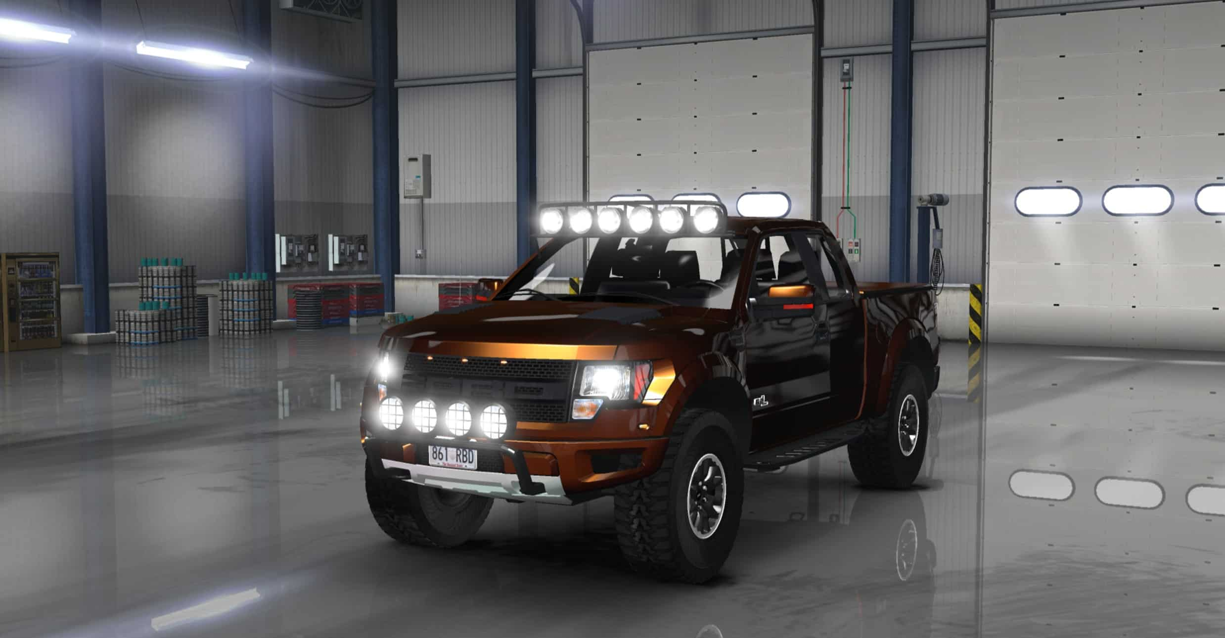 1476c0f4db Ford F150 SVT Raptor V1.1.2 for ATS - American Truck Simulator mod ...