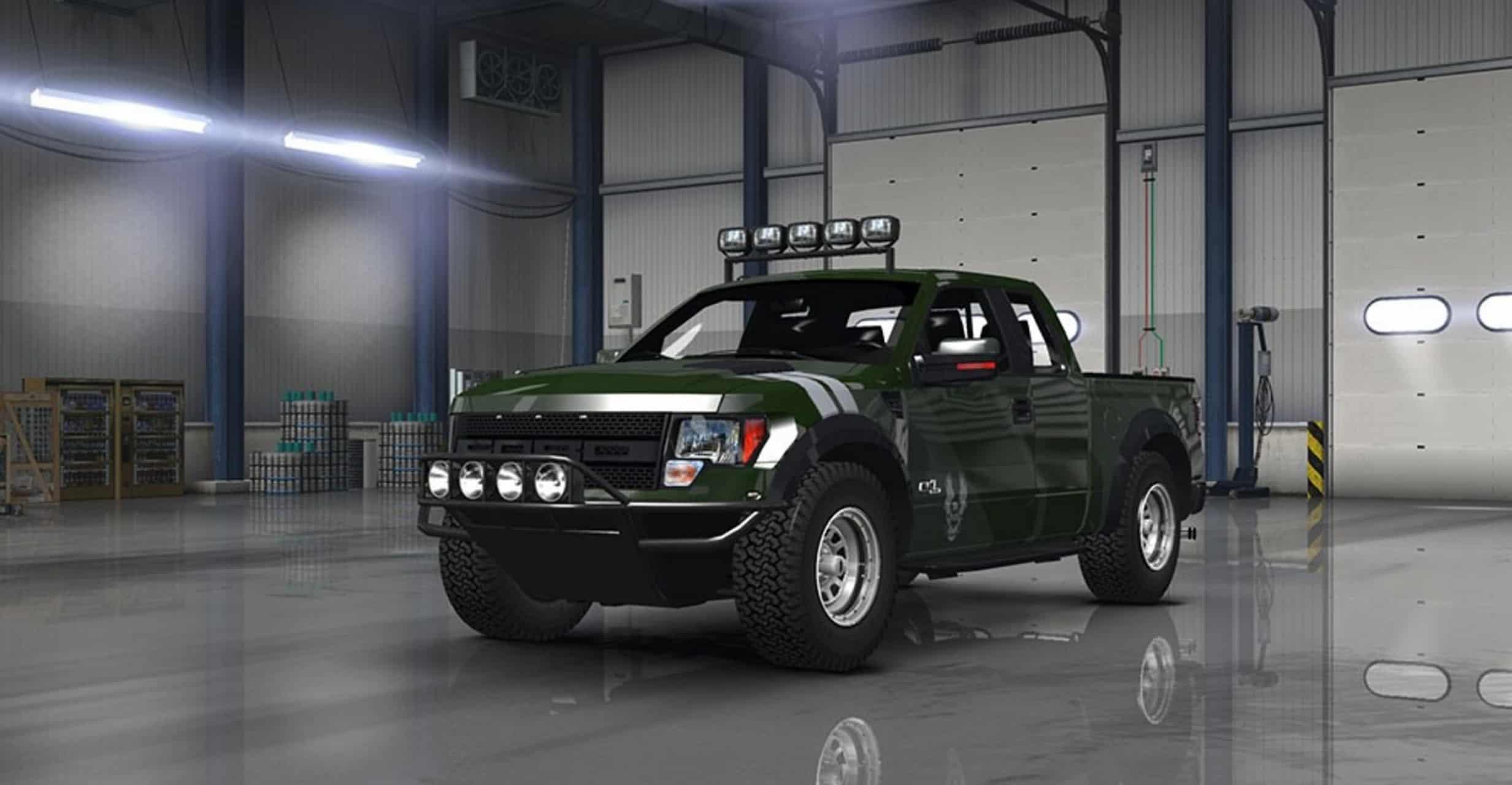 Ford F Svt Raptor V   For Ats American Truck Simulator Mods
