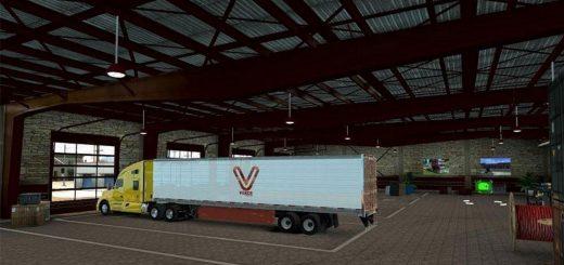 Trucking Company Garage : Real company logo v mod american truck simulator