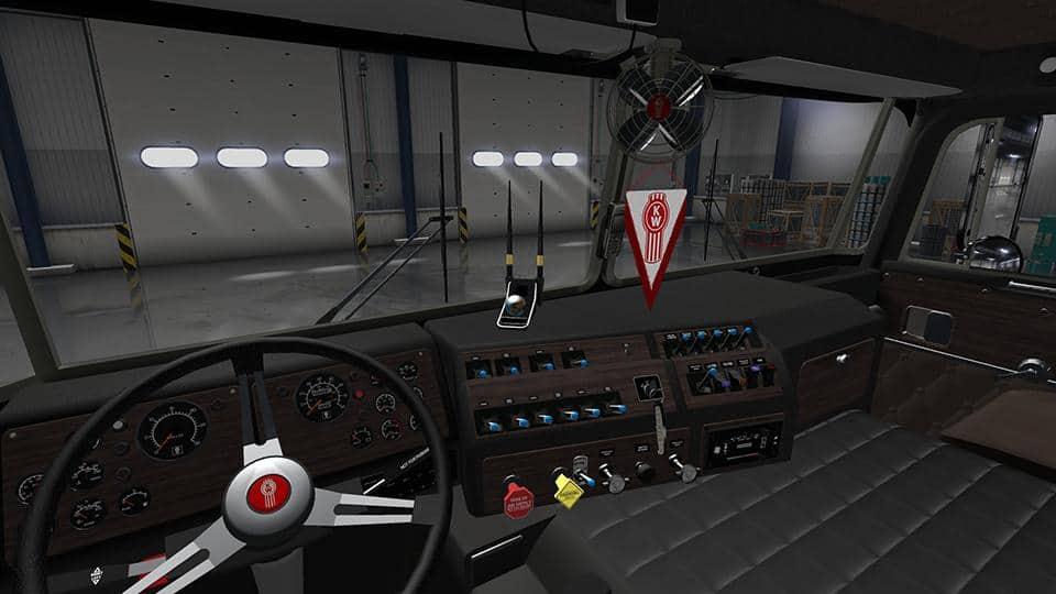 Kenworth K100 Interior Mod American Truck Simulator Mod
