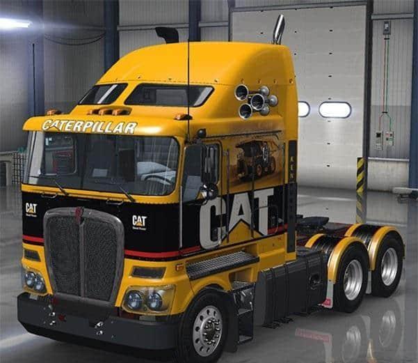Kenworth K200 V1 Truck American Truck Simulator Mod
