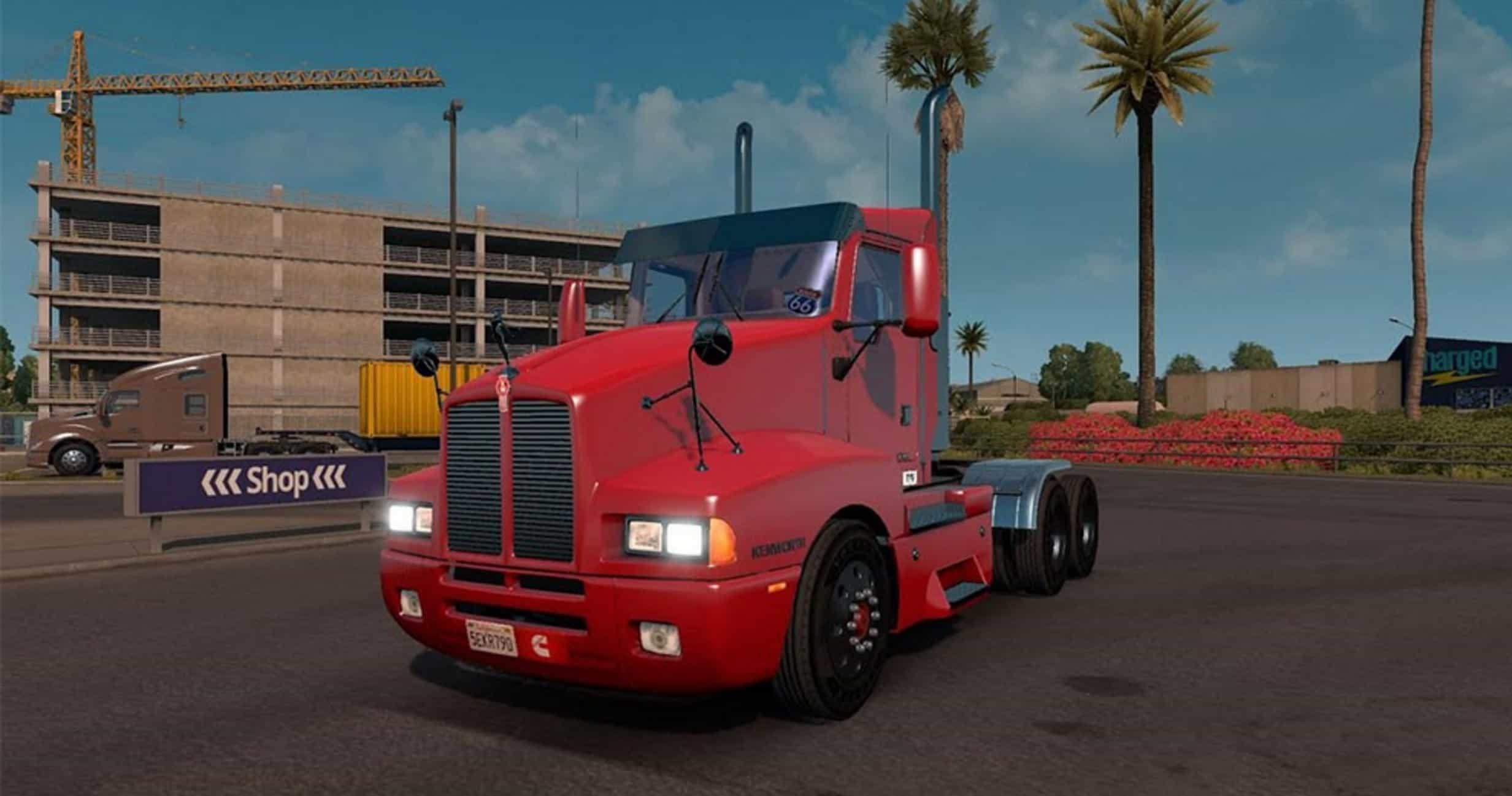 Kenworth T600 Day Cab Truck - American Truck Simulator mod | ATS mod