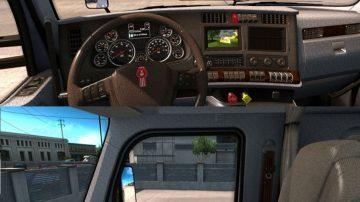 Kenworth T680 Interior Mod - American Truck Simulator mod | ATS mod