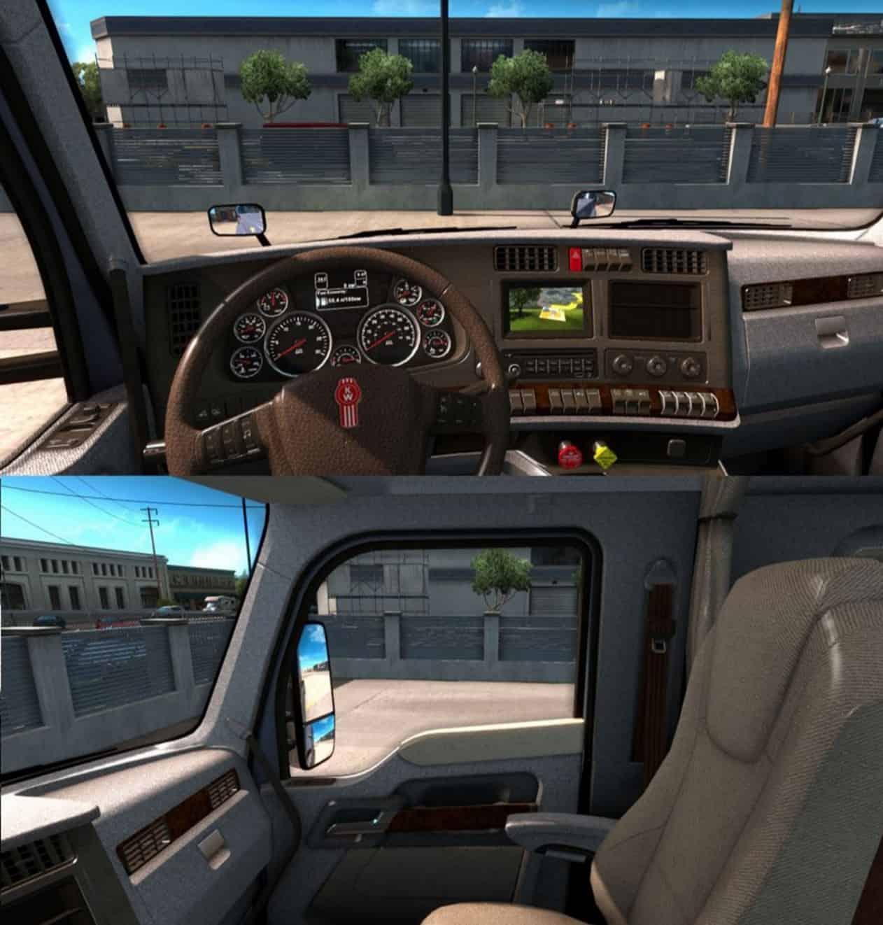 Kenworth T680 Interior Mod American Truck Simulator Mod Ats Mod