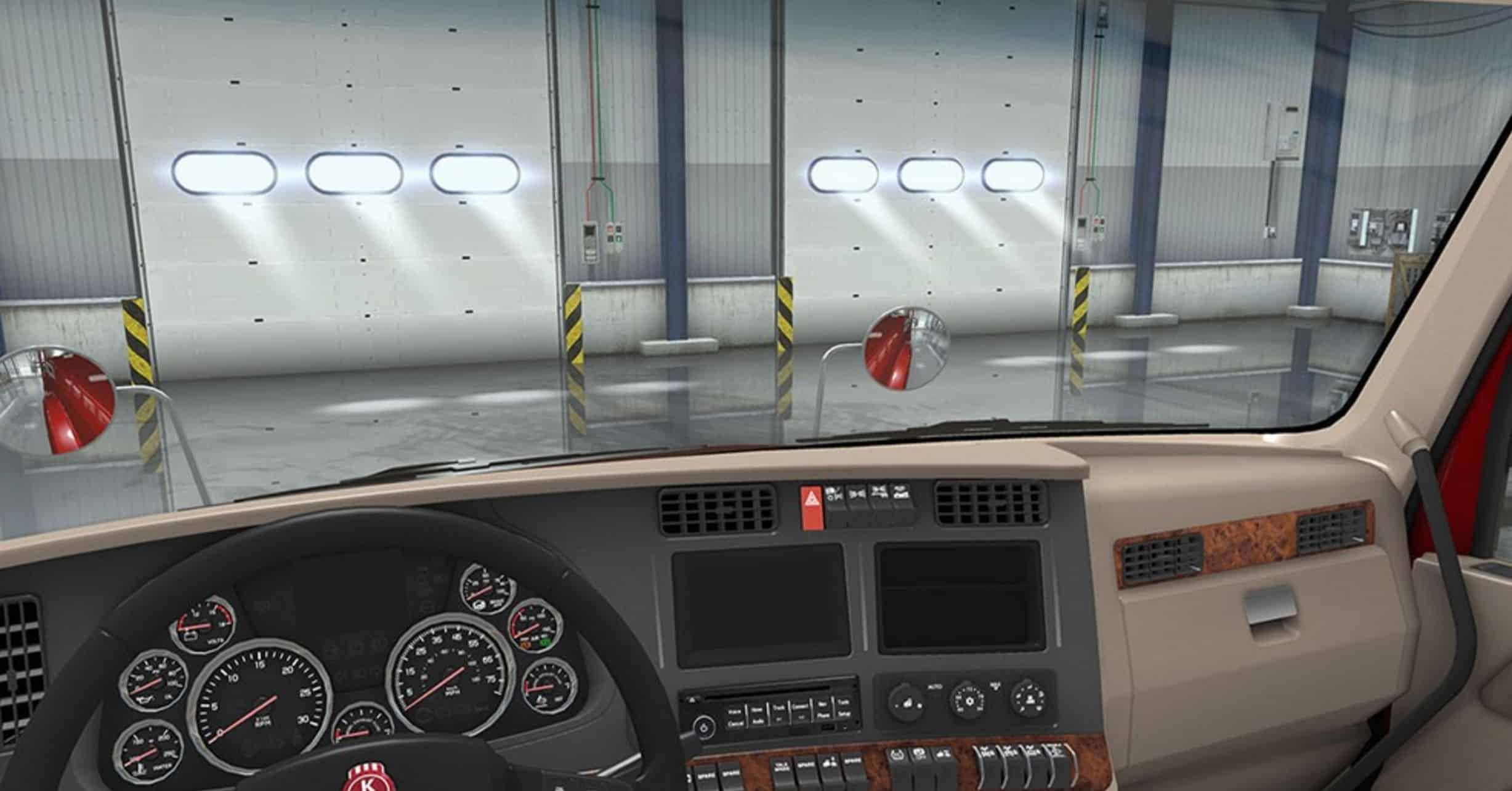Kenworth T680 Interior Exterior Rework Mod American Truck Simulator Mod Ats Mod