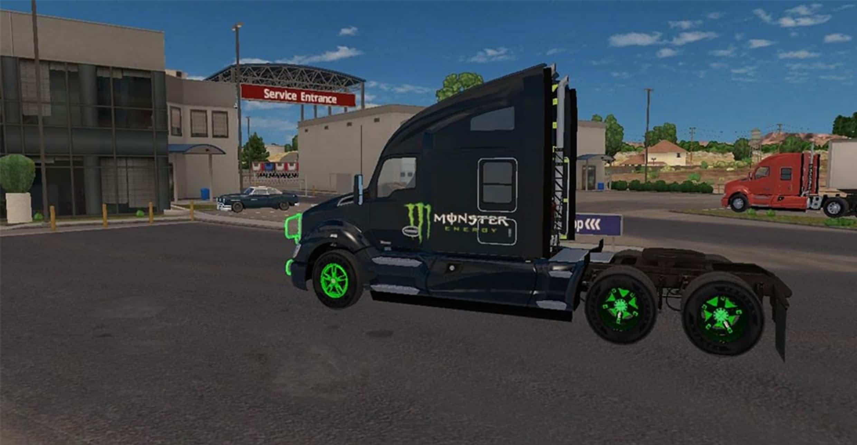 Kenworth Truck Monster Energy Mega Pack American Truck