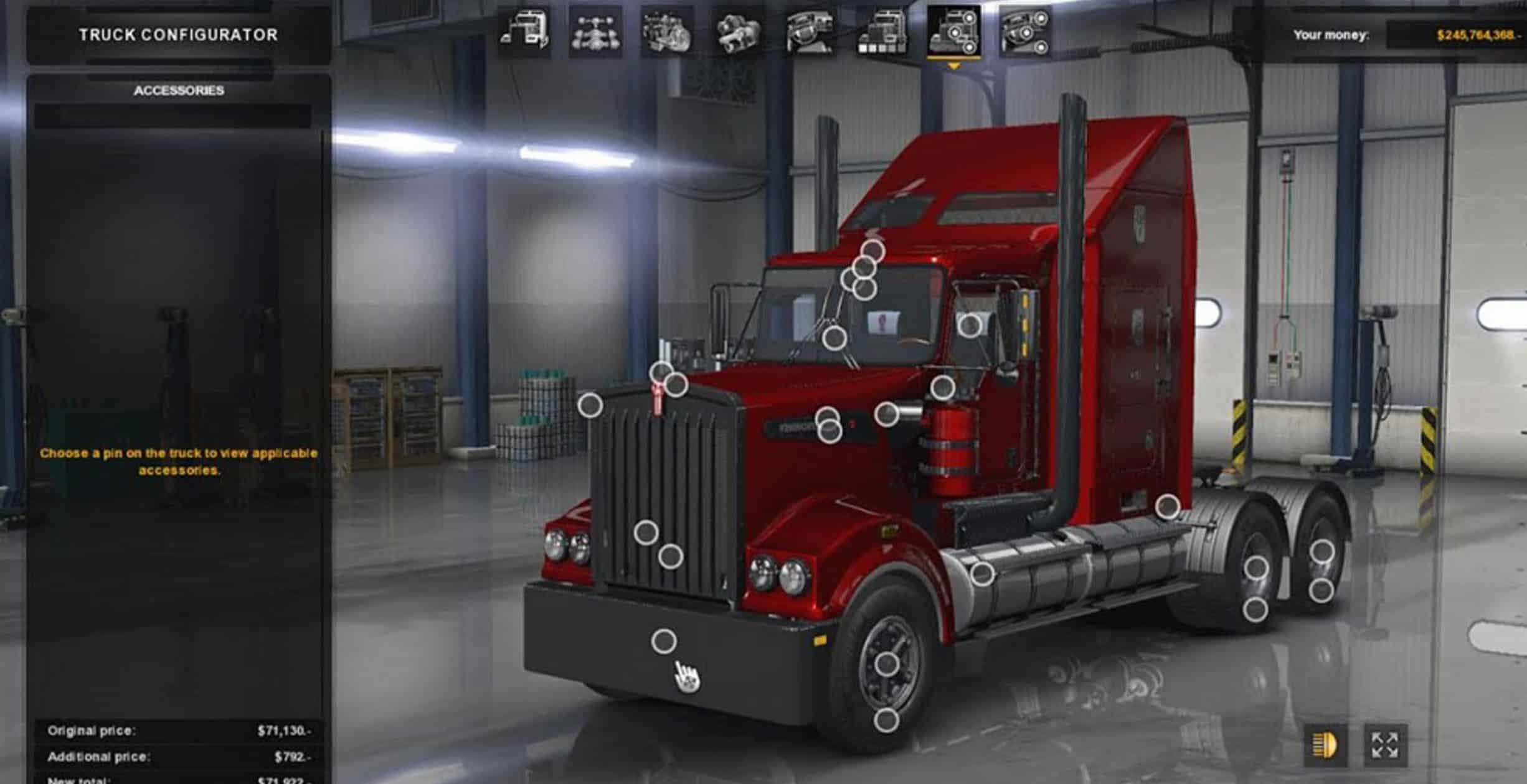 Kenworth T908 Truck Mod American Truck Simulator Mod