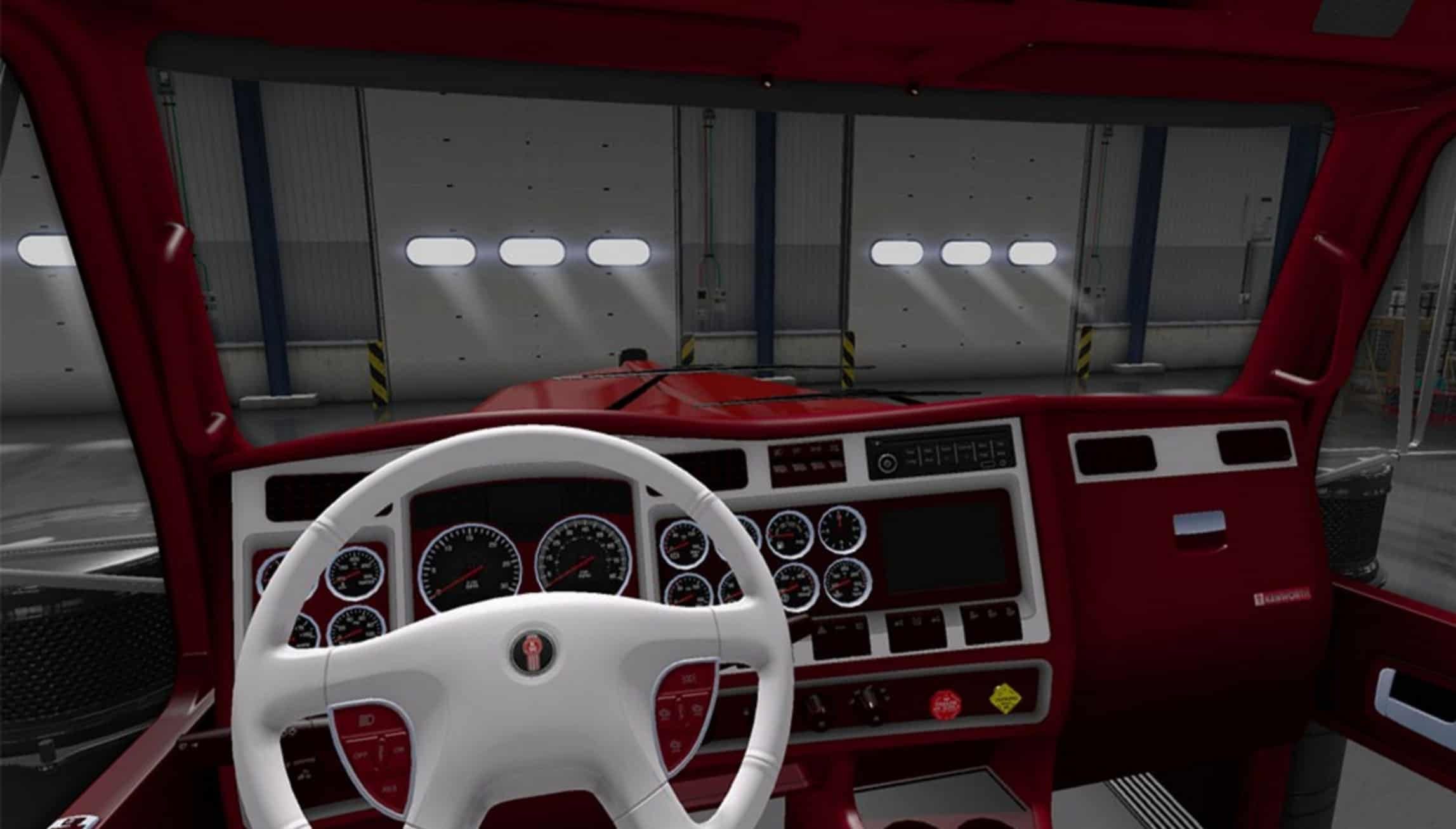 Related Keywords Suggestions For Kenworth W900 Interior
