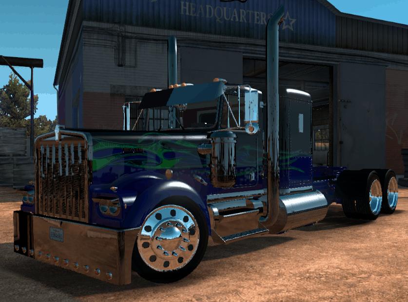 Kenworth W900a Custom Truck American Truck Simulator Mod