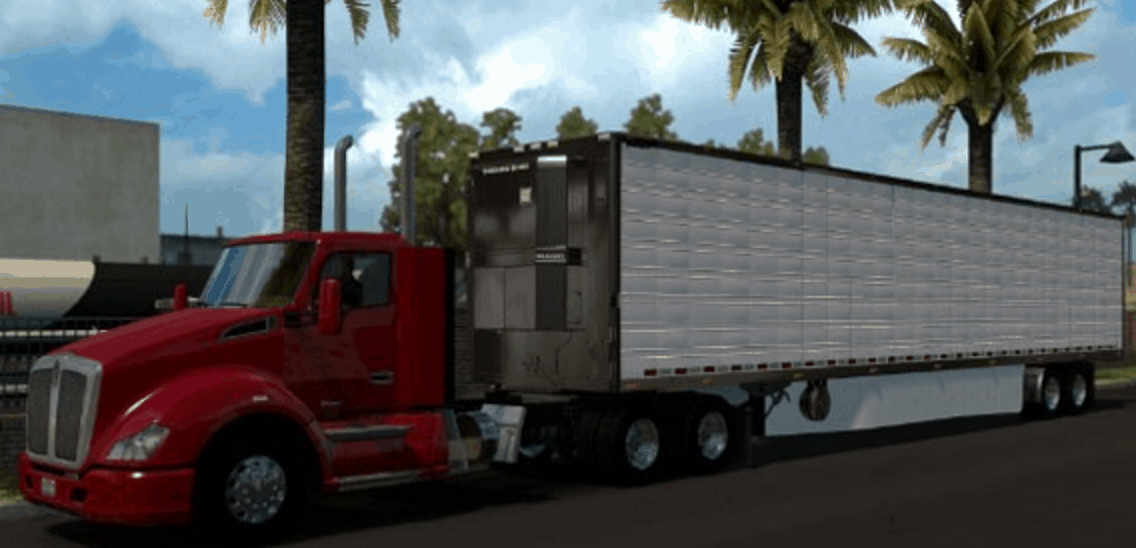 Long Frames for 579 & 680 Daycabs - American Truck Simulator mod ...