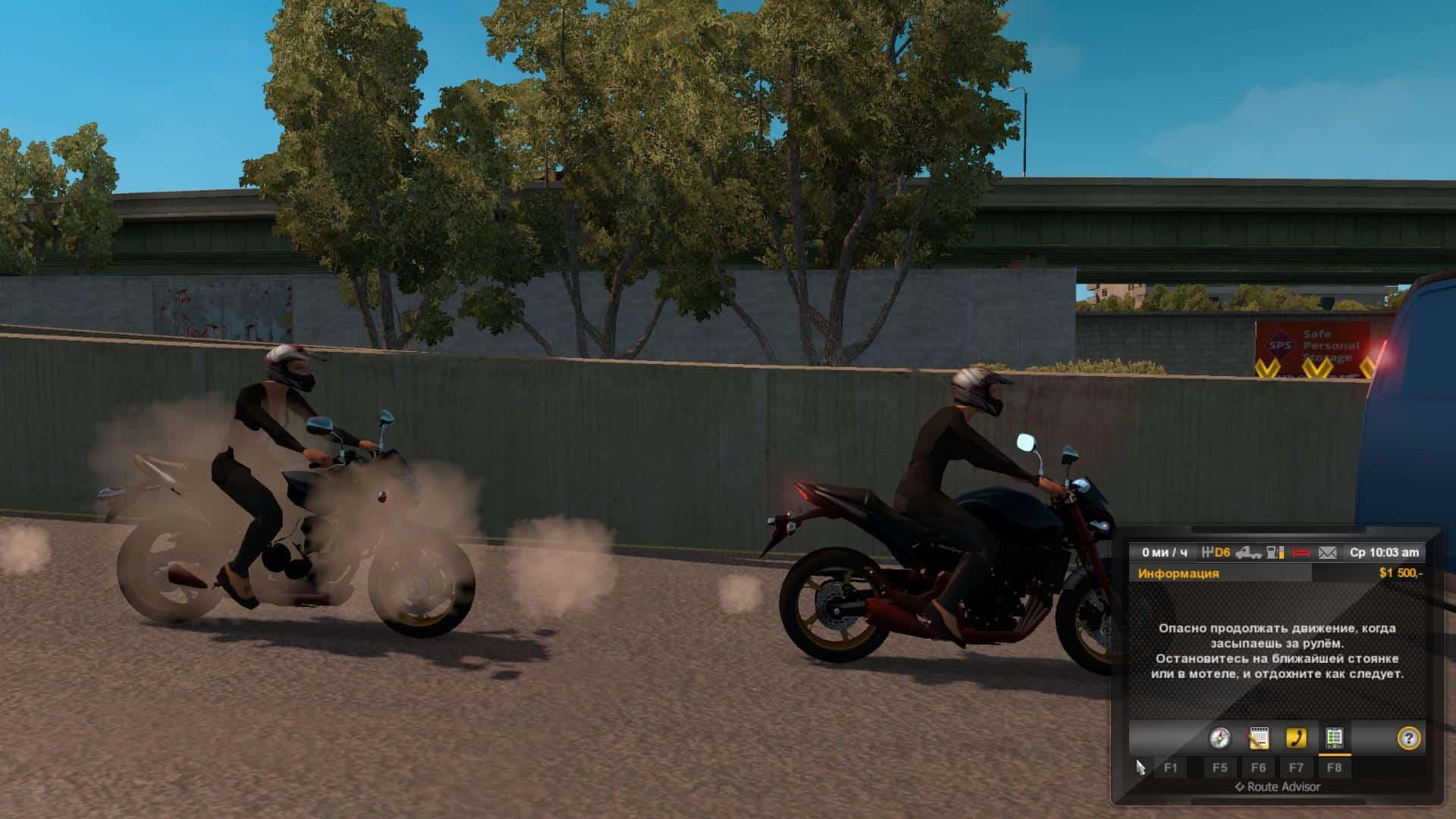 MOTORCYCLE IN TRAFFIC V1 0 0 MOD - American Truck Simulator
