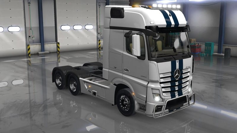 Mercedes benz actros mp4 v 2 0 truck american truck for New mercedes benz truck
