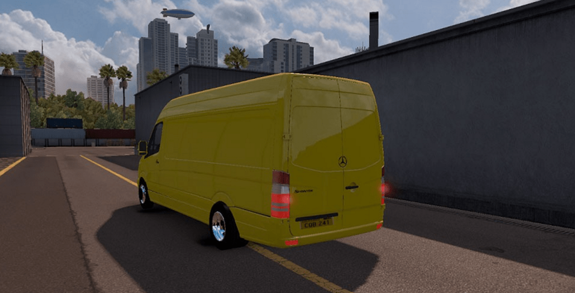 Mercedes Sprinter Lwb V 1 1 For Ats American Truck