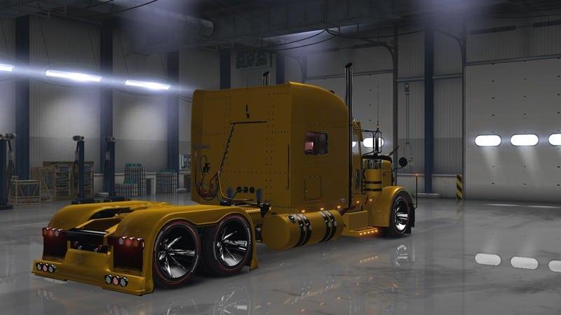 Peterbilt 389 V 1.12 for ATS - American Truck Simulator ...
