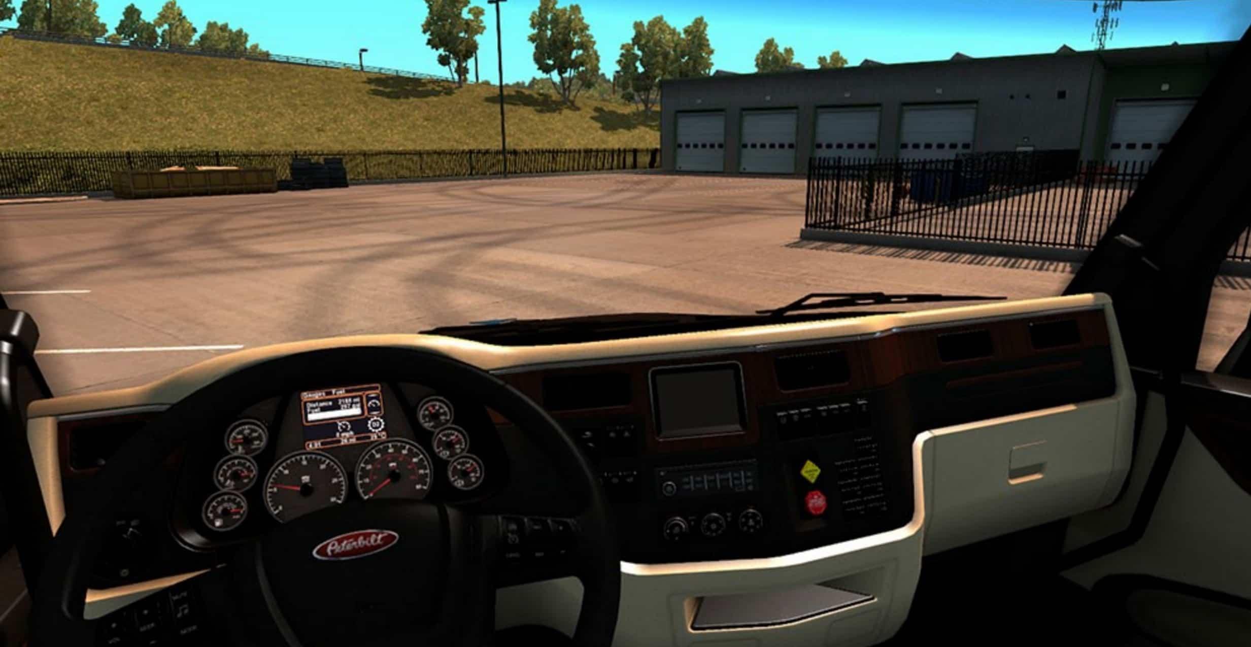 Peterbilt 579 Truck Lux Interior