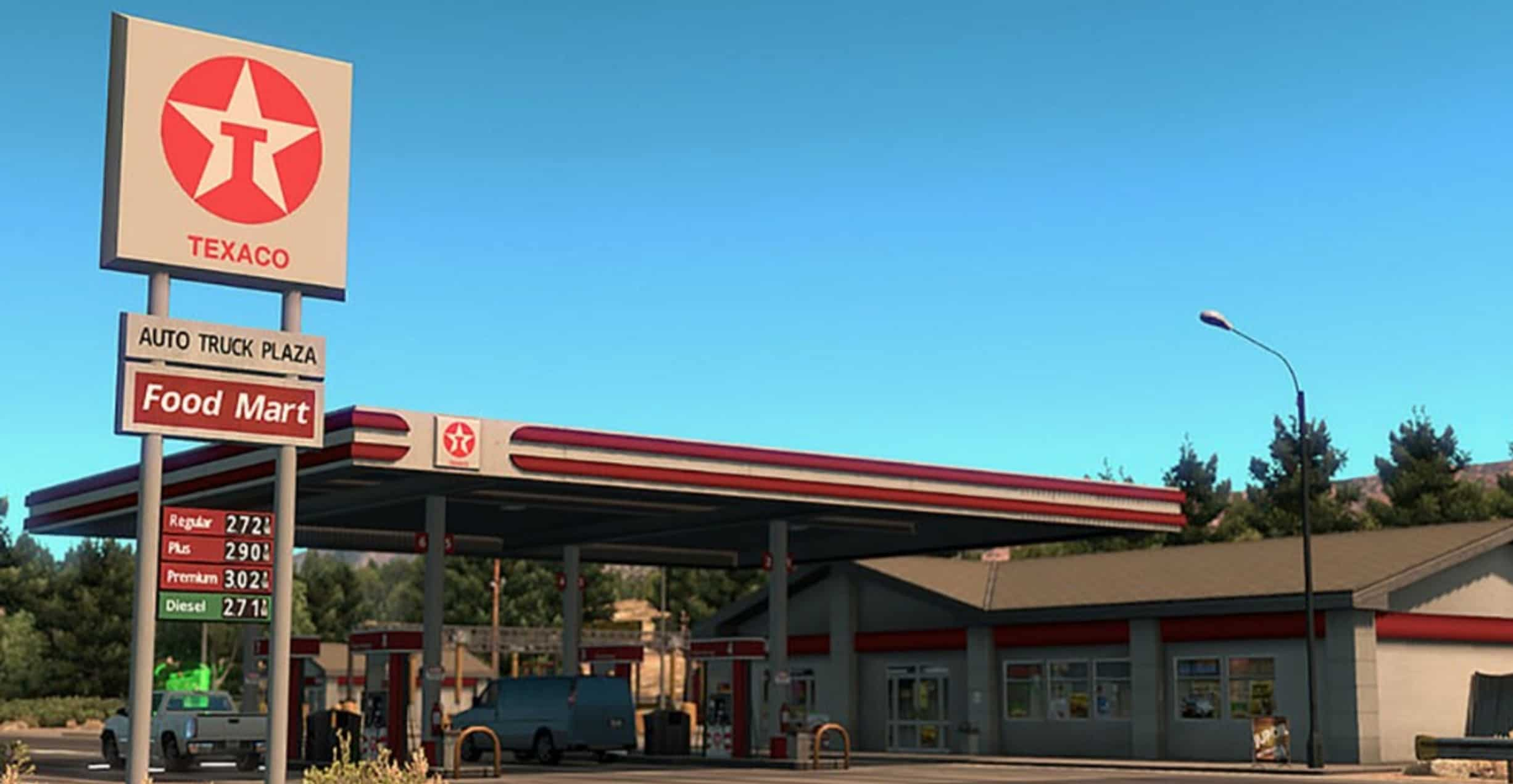 Gas Stations Near Me >> Real brands for Gas Station for ATS - American Truck Simulator mod | ATS mod