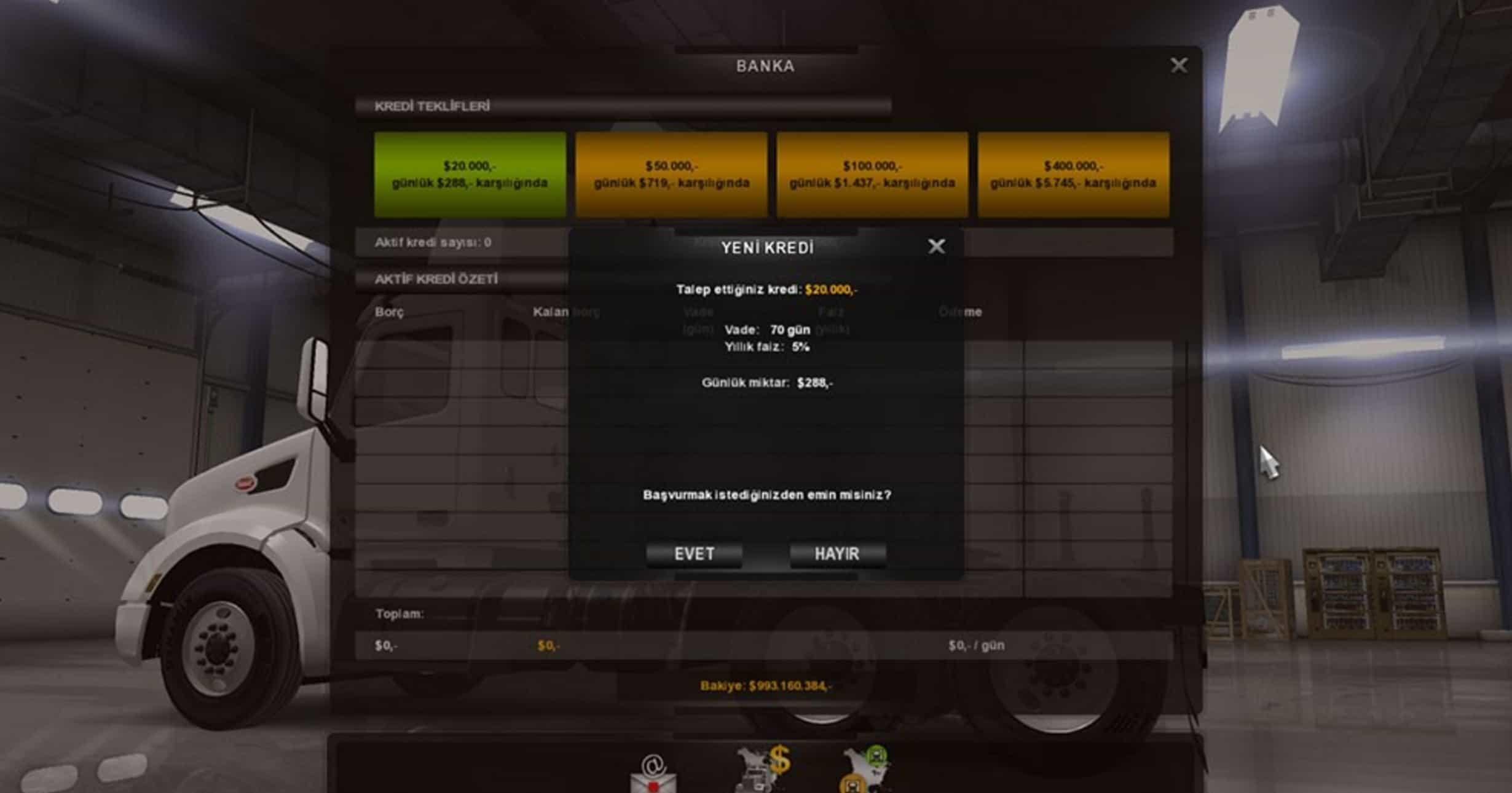 Euro Truck Simulator 2 моды Экономика