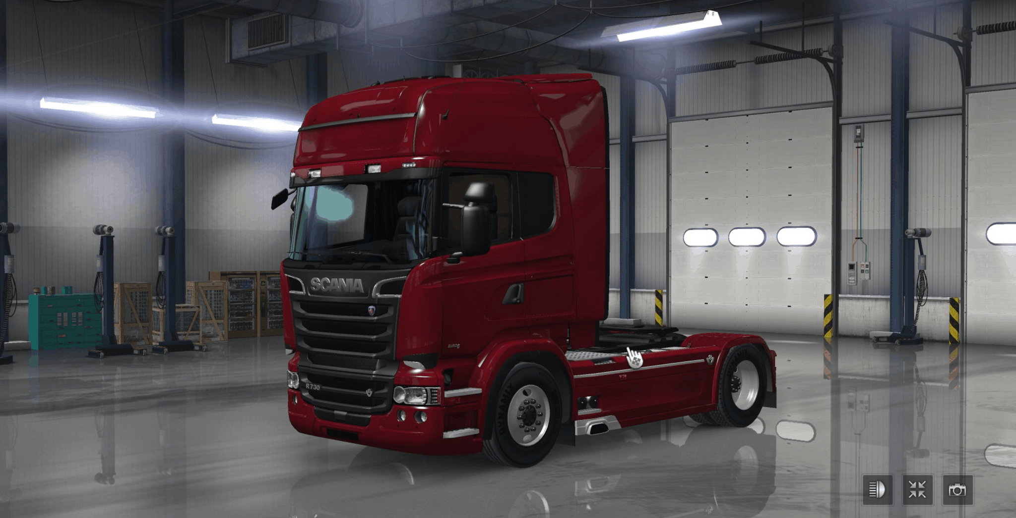 rjl scania t rs peterbilt 389 fix lkw pack ats american truck simulator mod ats mod. Black Bedroom Furniture Sets. Home Design Ideas