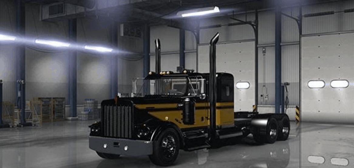 Smokey And The Bandit Unit Skin American Truck Simulator