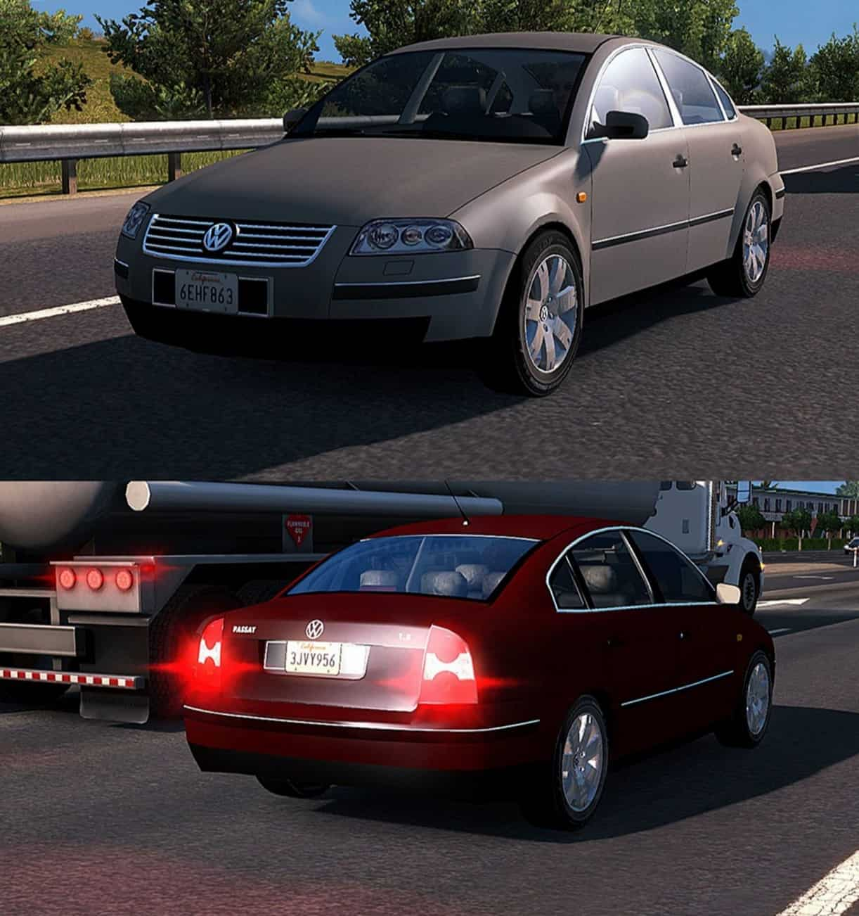 Standalone 4 New AI Cars Pack for ATS - American Truck ...