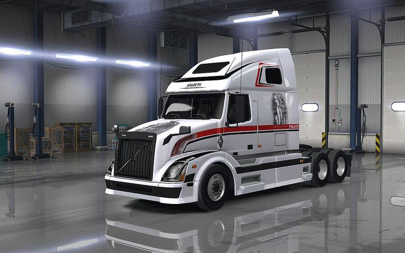Volvo Vnl 670 Truck For Ats 1 23 American Truck Simulator Mods