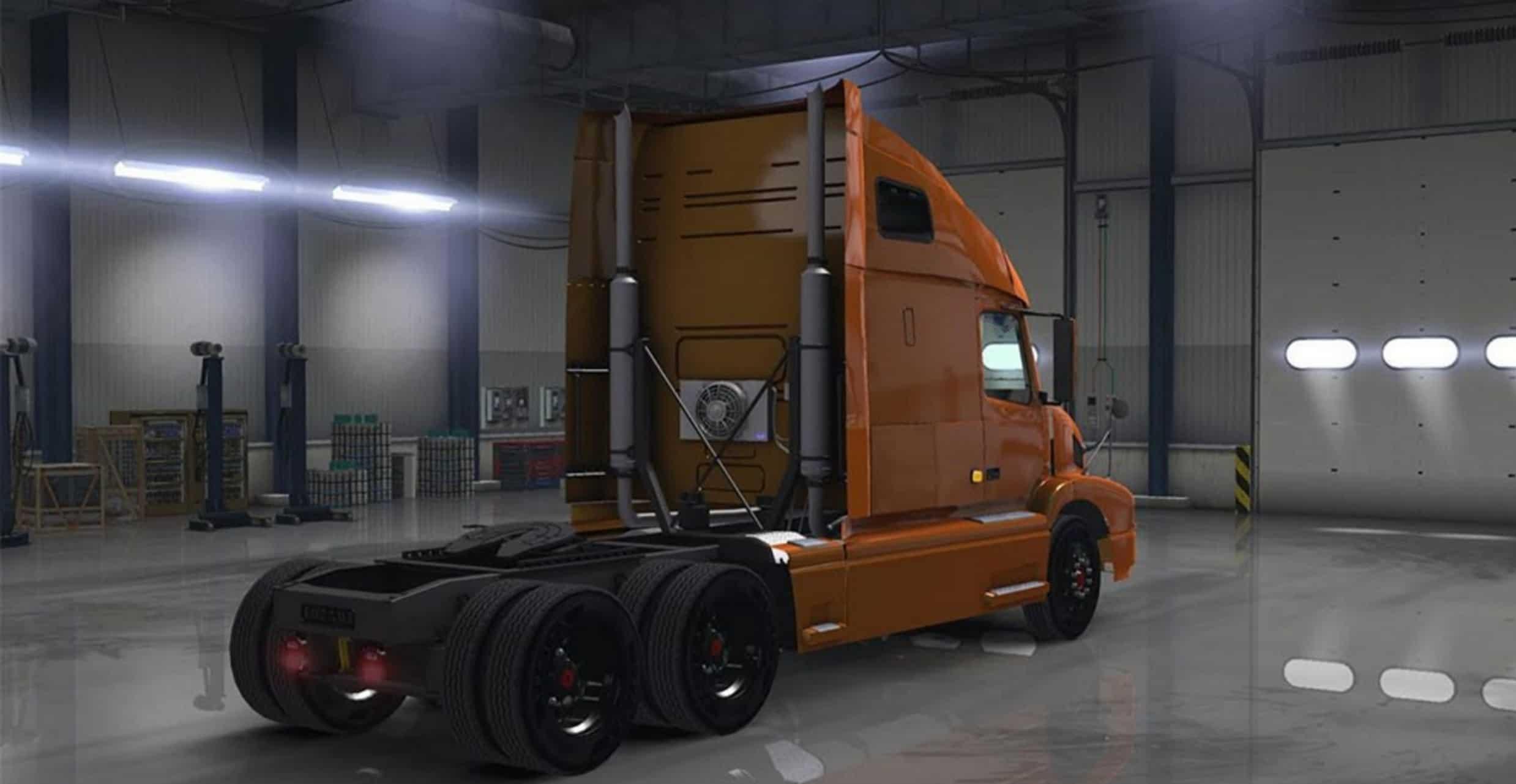 Volvo Vnl 660 Truck Update American Truck Simulator Mods