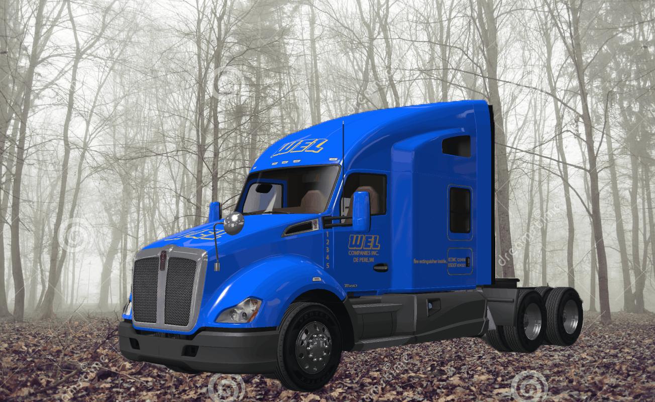 WEL companies Truck skin - American Truck Simulator mod ...