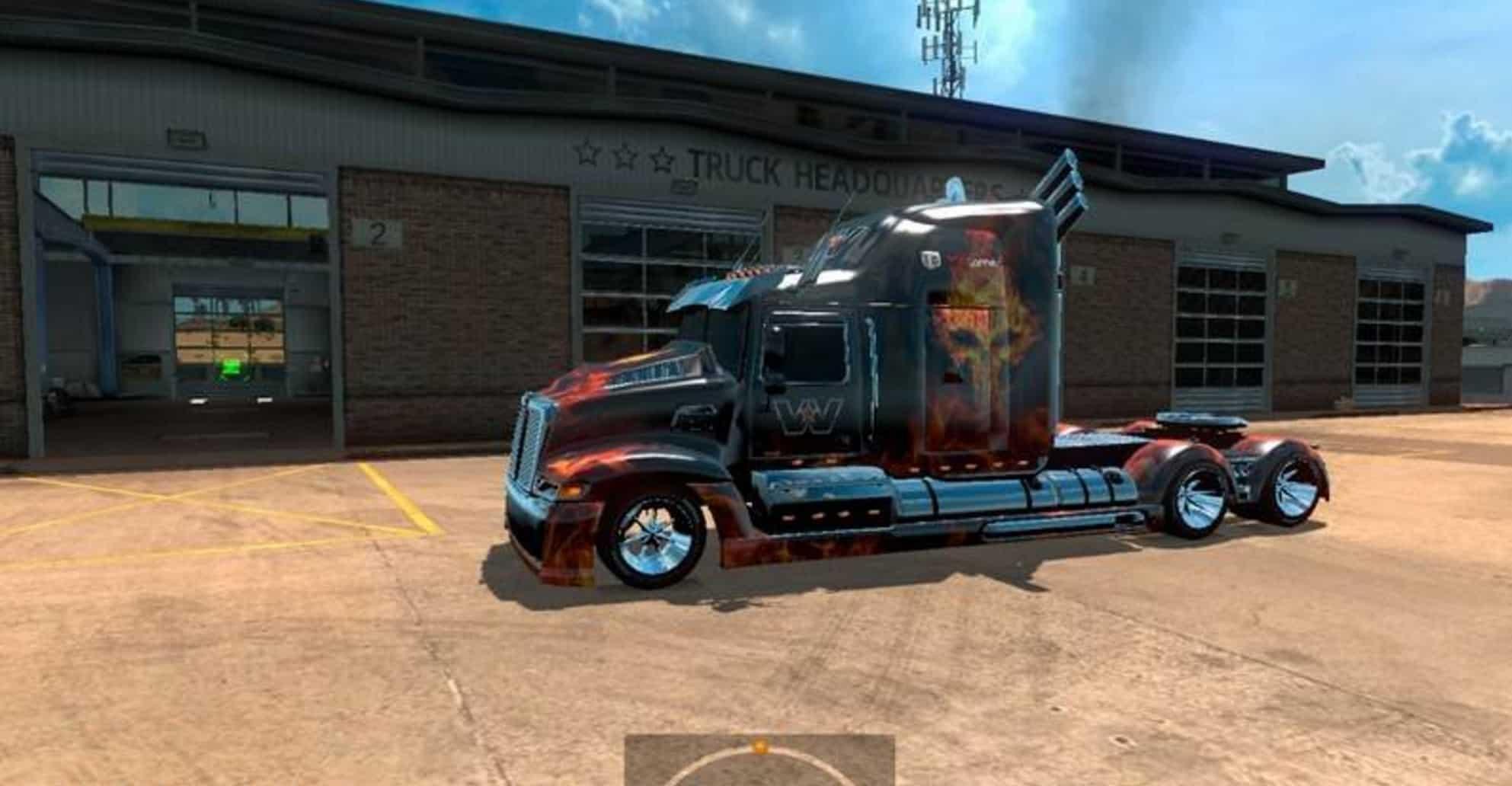 Western Star 5700 >> Western Star 5700 v 1 Truck - American Truck Simulator mod | ATS mod