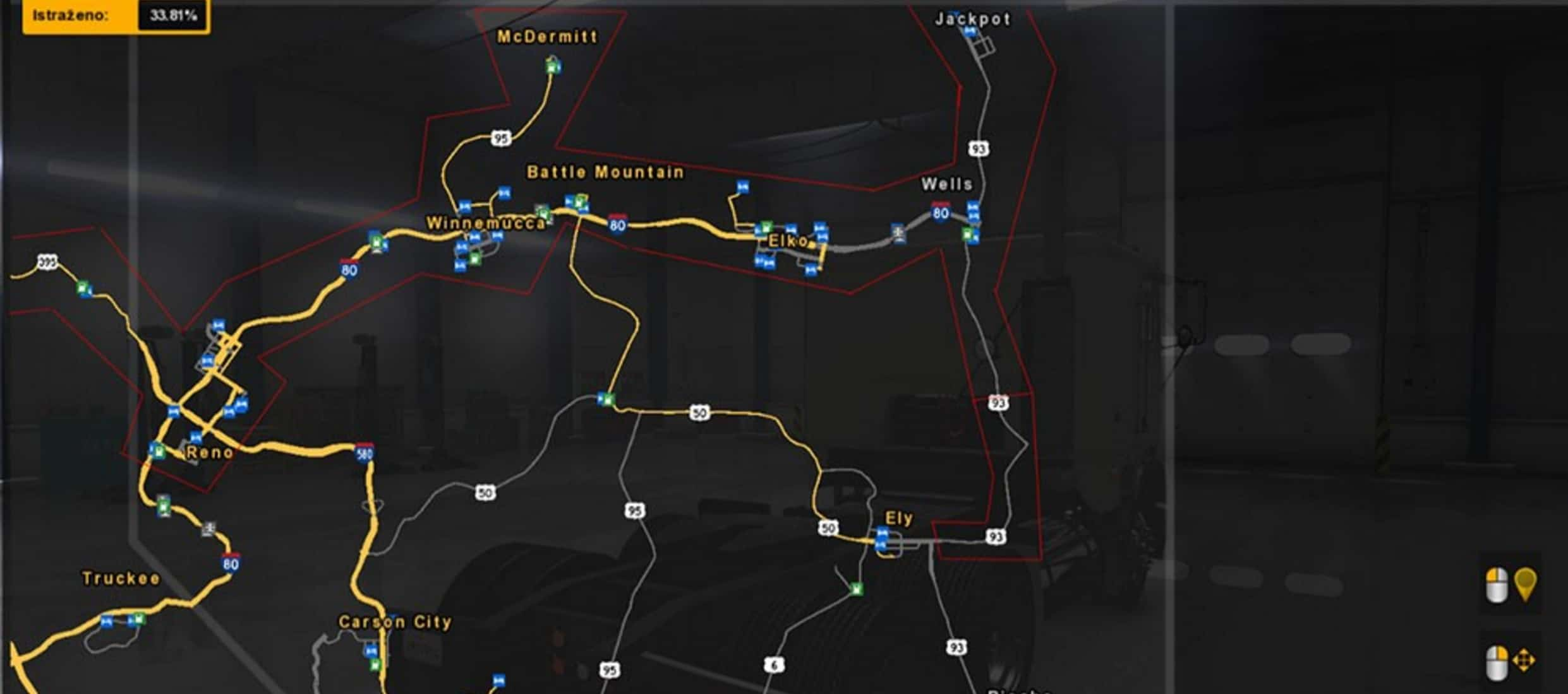 ATS MHA Pro Map v 12 for