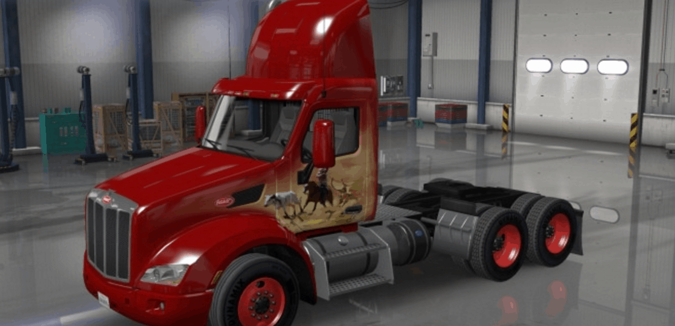 Colored Rims Pack 12 ATS American Truck Simulator Mods