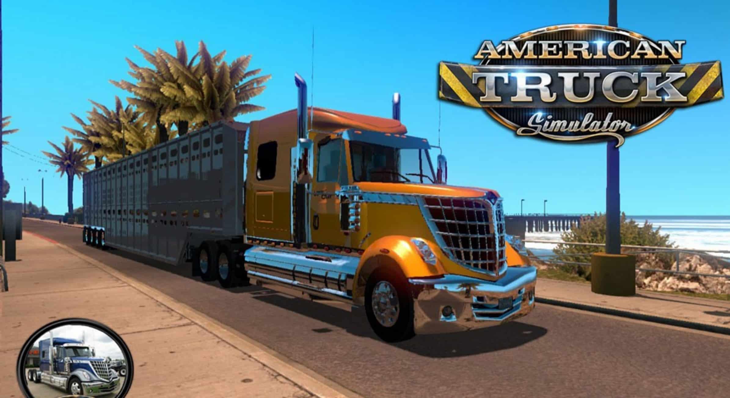 International Lonestar Truck v 2.3.0 - American Truck Simulator mod ...