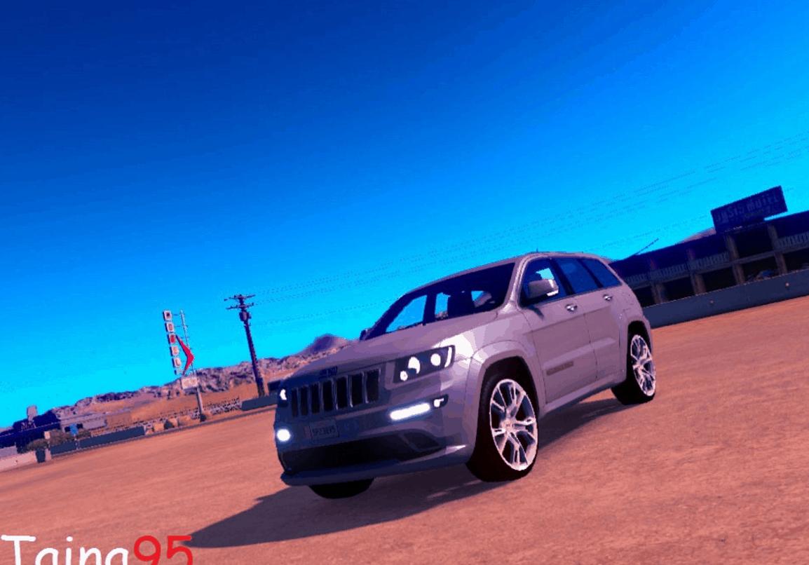 jeep grand cherokee srt8 mod american truck simulator mod ats mod. Black Bedroom Furniture Sets. Home Design Ideas