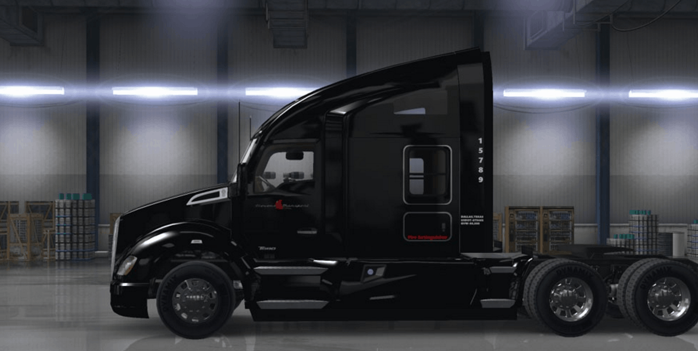 Kenworth T680 Stevens Transport Skin Mod American Truck Simulator Mod Ats Mod