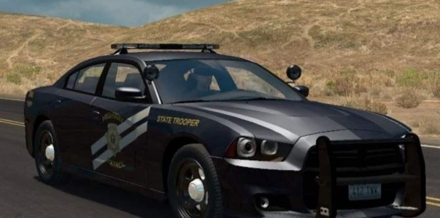 Sport Cars As Police Cruisers Usa