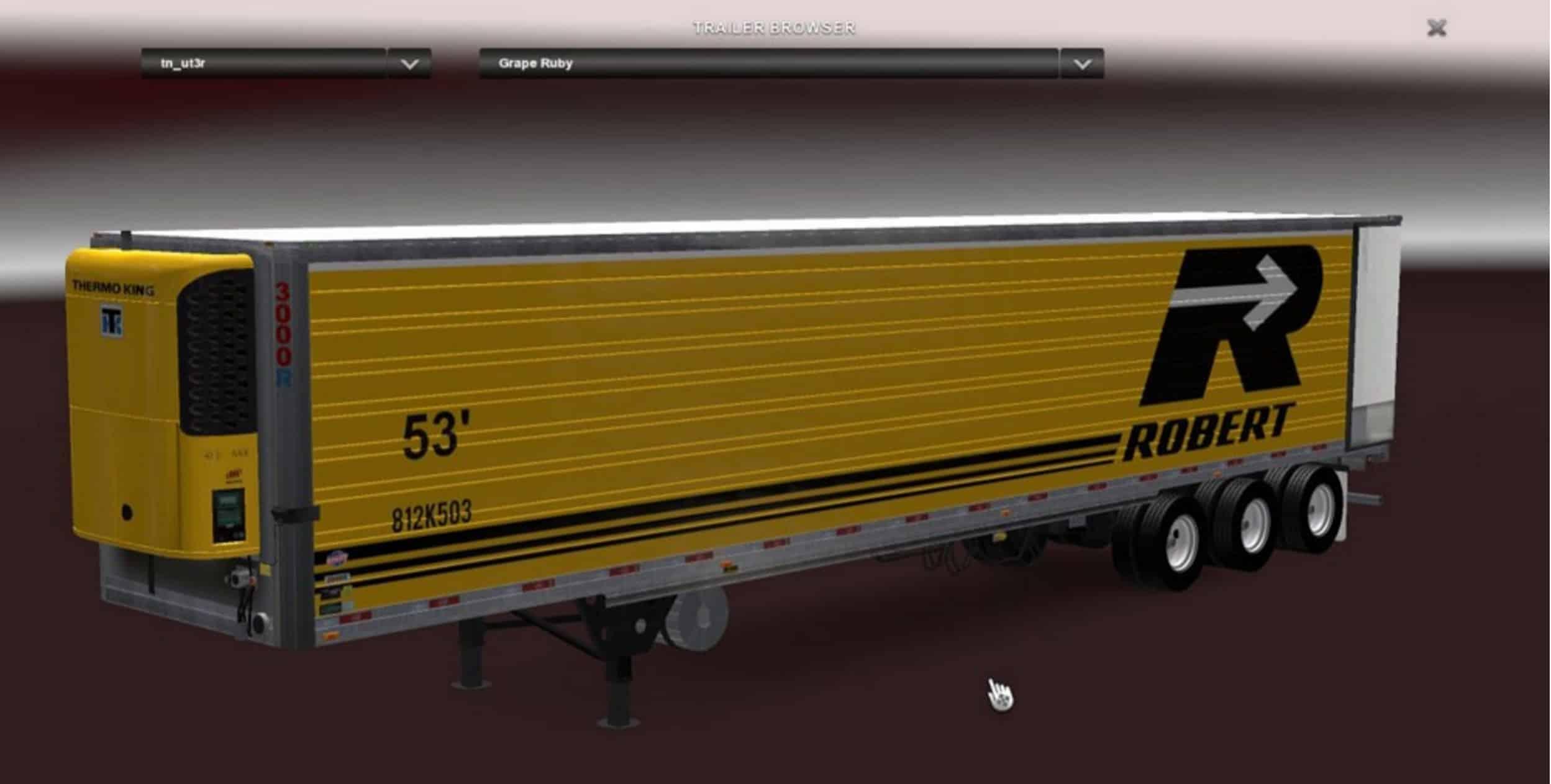 Usa Utility Trailer 3000R v 1 0 Mod - American Truck