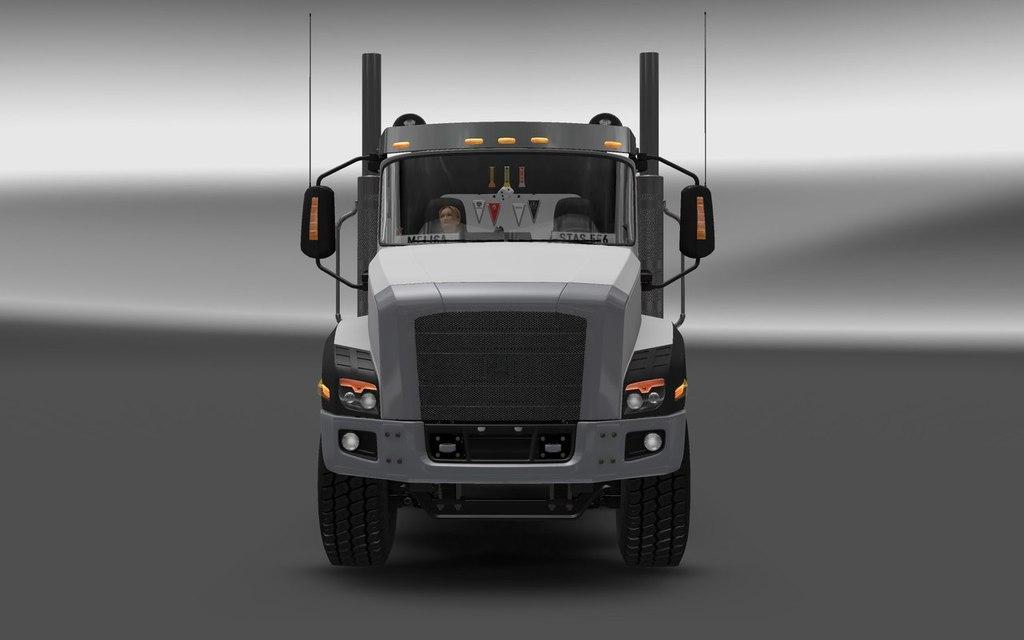 CAT CT660 V1.0 MOD - American Truck Simulator mod   ATS mod