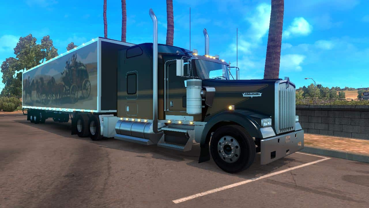 Smokey And The Bandit Trailer >> DC-SMOKEY AND THE BANDIT TRAILERS FOR ATS V1 MOD - American Truck Simulator mod | ATS mod
