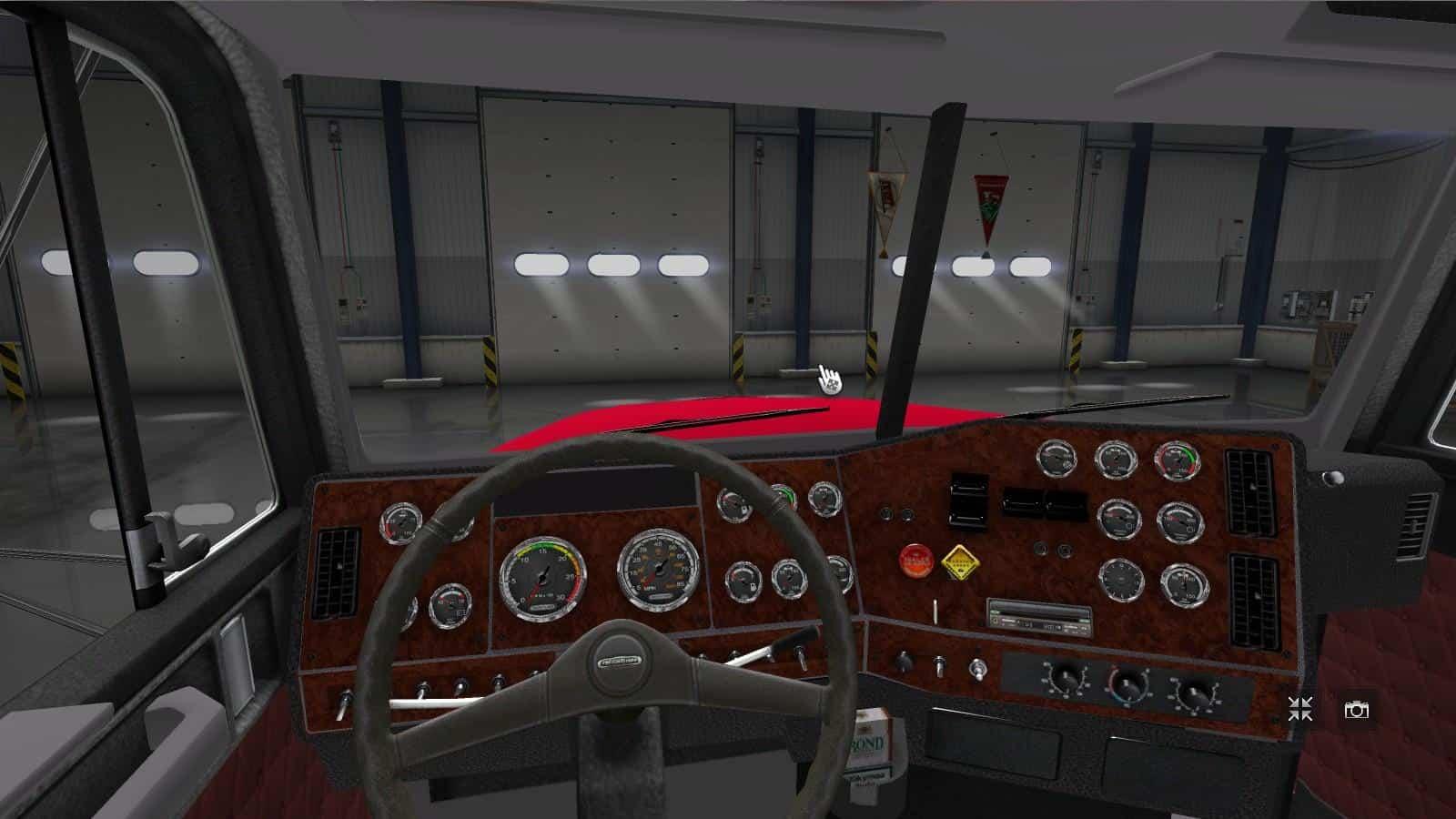 Freightliner Fld 120 Beta Truck American Truck Simulator Mod Ats Mod