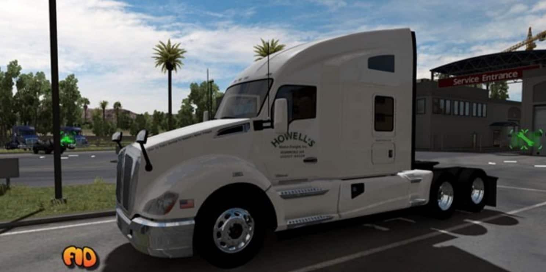 Howell's Motor Freight, Inc. Skin Mod